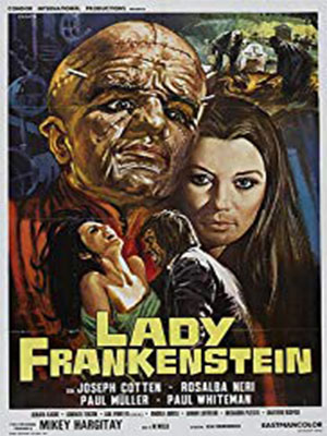 Poster of Lady Franskenstein