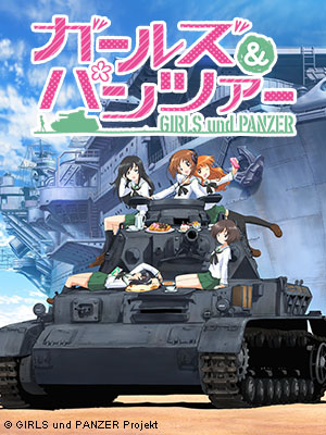 Poster of Girls Und Panzer