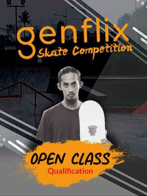 Poster of Genflix Skate Competition 2019 : Open Class Qualification