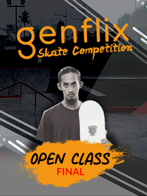 Poster of Genflix Skate Competition 2019 : Open Class Final