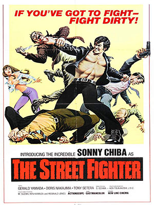 Poster of The Street Fighter