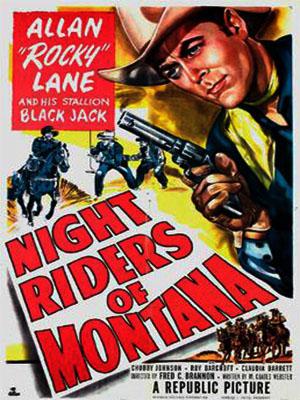 Poster of Night Riders Of Montana