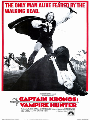 Poster of Captain Kronos Vampire Hunter