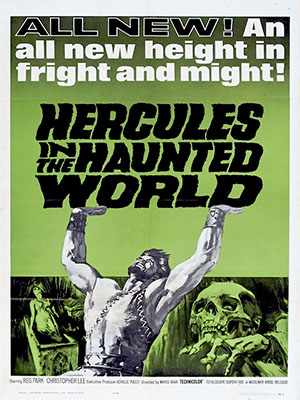 Poster of Hercules In the Haunted World