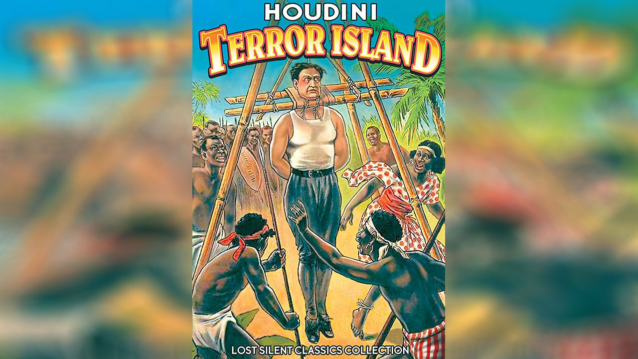 Poster of Harry Houdini Terror Island