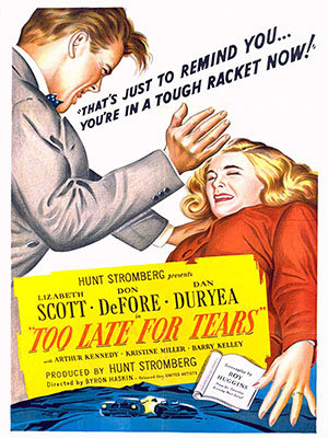 Poster of Too Late for Tears
