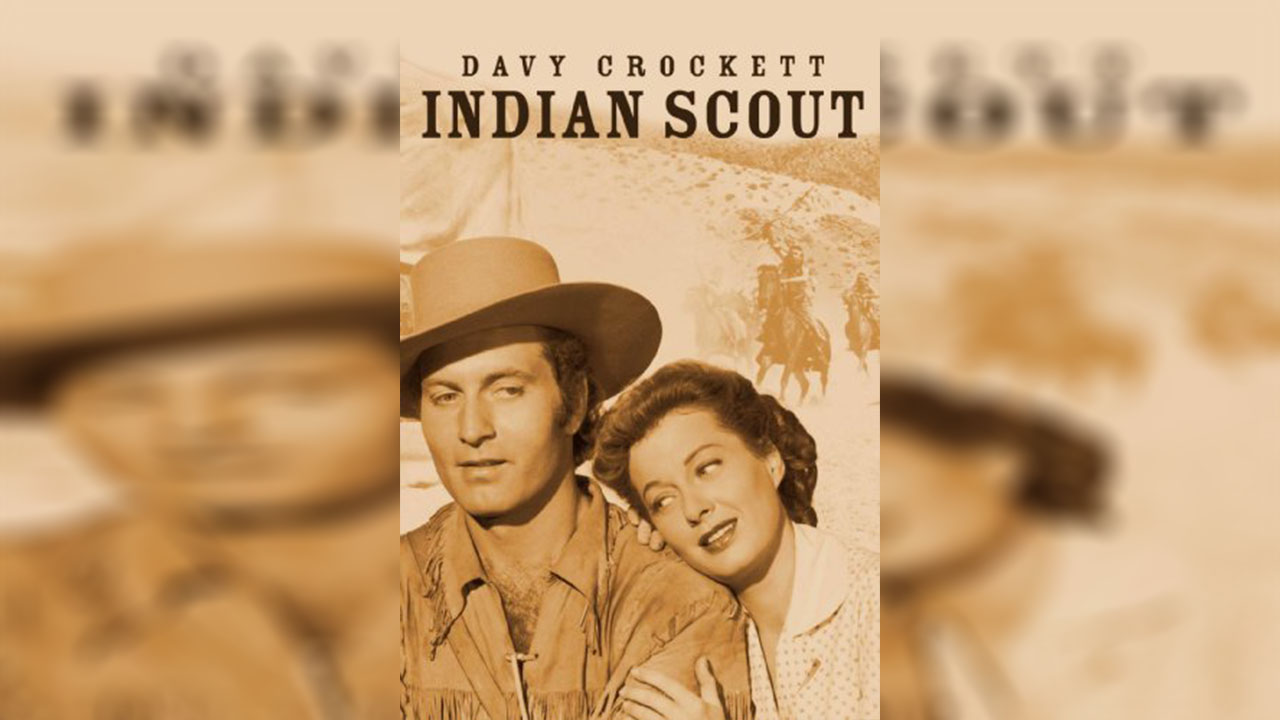 Poster of Davy Crockett, Indian Scout