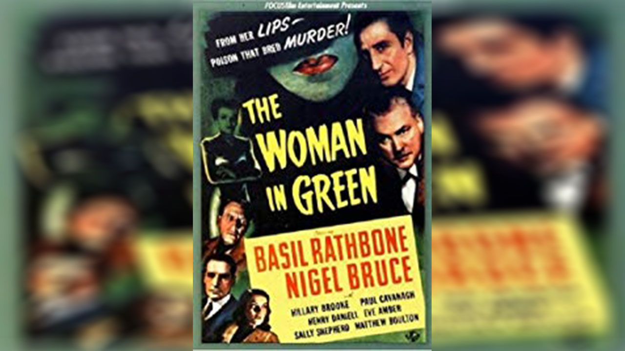 Poster of The Woman in Green