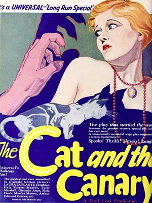 Poster of The Cat and The Canary