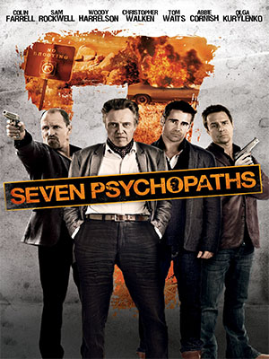 Poster of Seven Psychopats