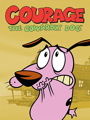Poster of Courage The Cowardly Dog