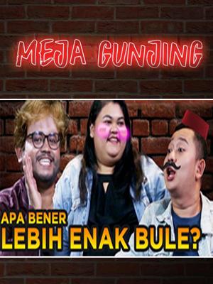 Poster of Meja Gunjing: Pilih Lokal Atau Bule