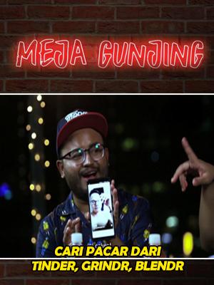 Poster of Meja Gunjing: Cari Pacar Dari Tinder, Grindr, Blendr??? Hmmm...