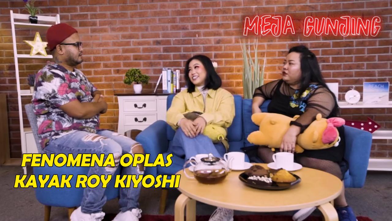 Poster of Meja Gunjing: Fenomena Oplas Kayak Roy Kiyoshi