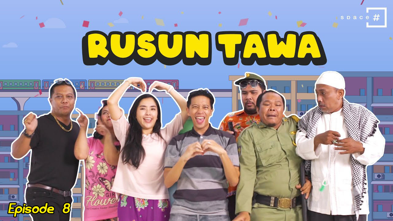 Poster of Rusun Tawa Eps 8