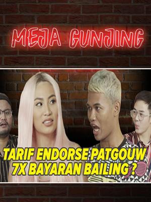 Poster of Meja Gunjing: Tarif Endorse Patgouw, 7x Bayaran Bailing