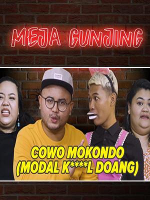 Poster of Meja Gunjing: Cowo Mokondo???