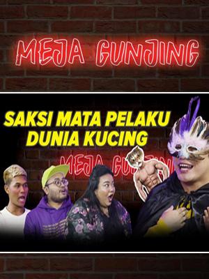Poster of Meja Gunjing: Saksi Mata Pelaku Dunia Kucing