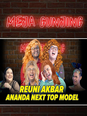 Poster of Meja Gunjing: Reuni Akbar Ananda Next Top Model