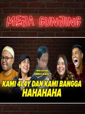 Poster of Meja Gunjing: Kami 4lay Dan Kami Bangga! Hahaha