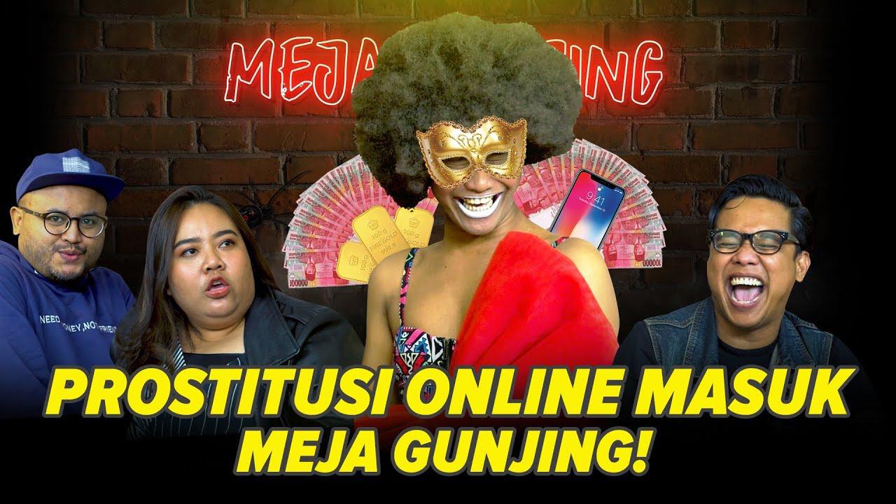 Poster of Meja Gunjing: Prostitusi Online Masuk Meja Gunjing