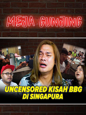 Poster of Meja Gunjing: Uncensored Kisah BBG Di Singapura