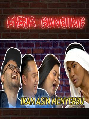Poster of Meja Gunjing: Ikan Asin Menyerbu