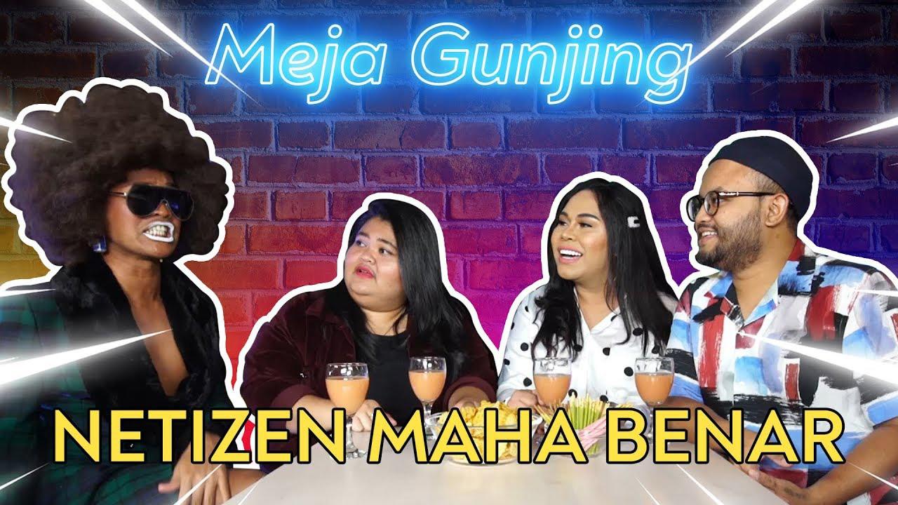 Poster of Meja Gunjing: Netizen Maha Benar