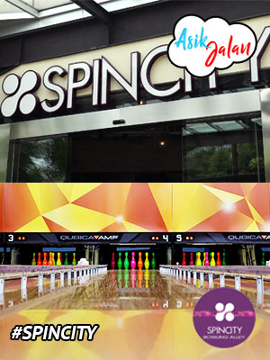 Poster of Spincity Bowling Alley