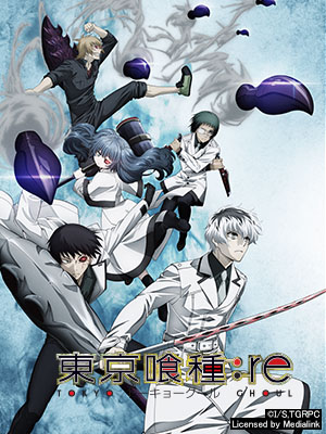 Poster of Tokyo Ghoul: re