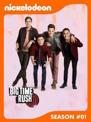 Poster of Big Time Rush Season 1