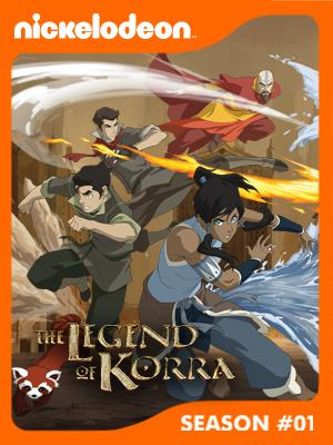 Poster of The Legend of Korra Season 1