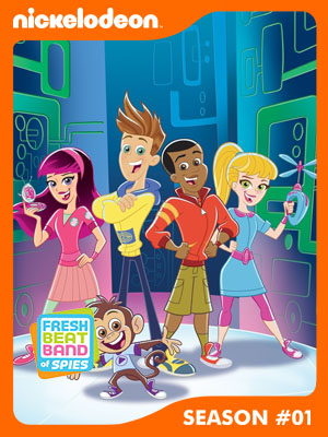 Poster of Fresh Beat Band of Spies Season 1