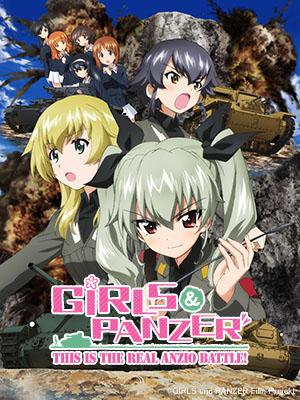 Poster of Girls und Panzer OVA: This is the true battle of Anzio!