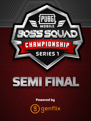 Poster of PUBGM BSC Championship Q1 Series 1 Semifinal