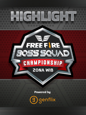 Poster of RRQ Highlight Final FF BSC Q1 ZONA WIB