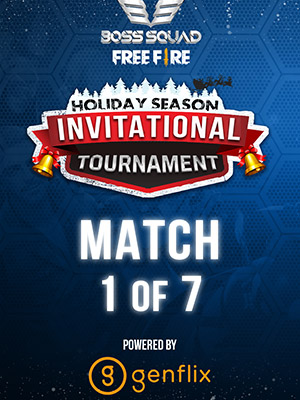Poster of FREE FIRE BSC Holiday Season Invitational Tournament