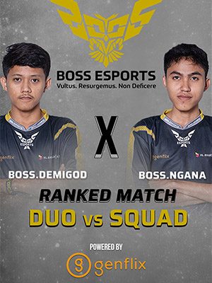 Poster of Ranked Gameplay - Boss.Demigod X Boss.Ngana