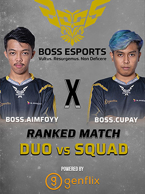 Poster of Ranked Gameplay - Boss.Cupay X Boss.Aimfoy