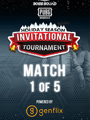 Poster of PUBGM BSC Holiday Season Invitational Tournament