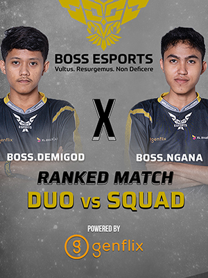 Poster of Ranked Gameplay - Boss.Ngana x Boss.Demigod