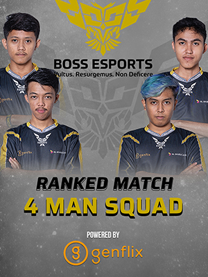 Poster of Ranked Gameplay -  4 Man Boss Squad Full Team