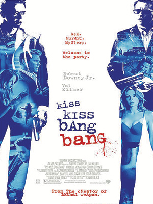 Poster of Kiss Kiss Bang Bang