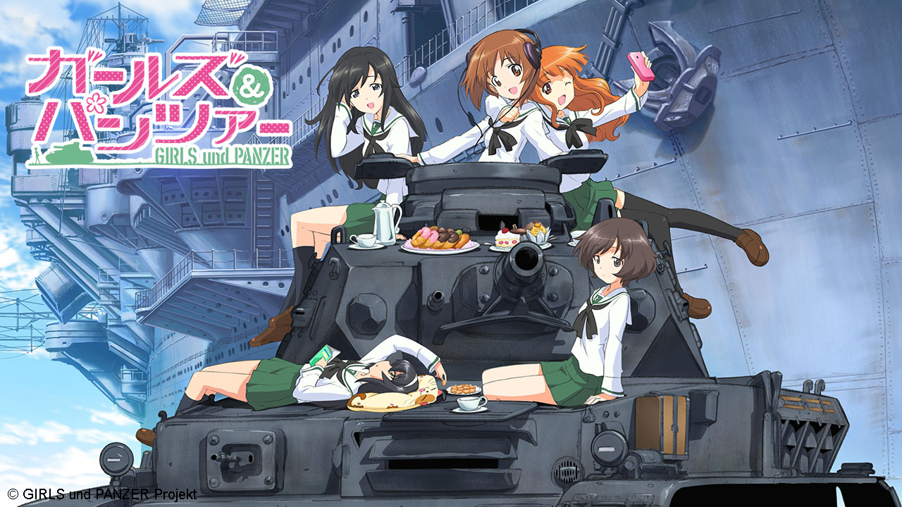 Poster of Girls Und Panzer Eps 01
