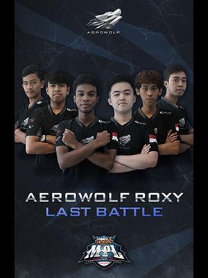 Poster of Aerowolf Roxy Last Battle