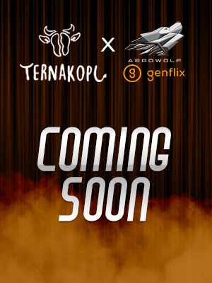 Poster of Coming Soon Coverage Event Ternakopi x Genflix Aerowolf.