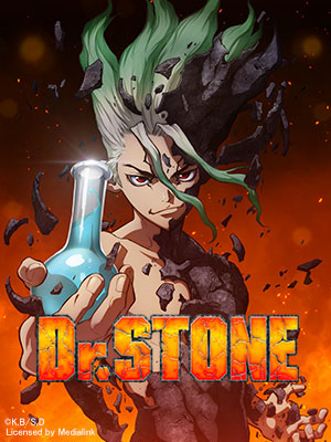 Poster of Dr. Stone Eps 4: Fire the Smoke Signal