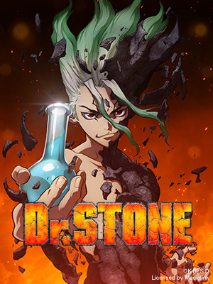 Poster of Dr. Stone Eps 24: Voices Over Infinite Distance