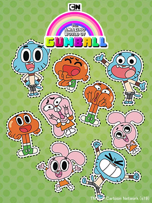 Poster of The Amazing World of Gumball Season 3 Eps 30
