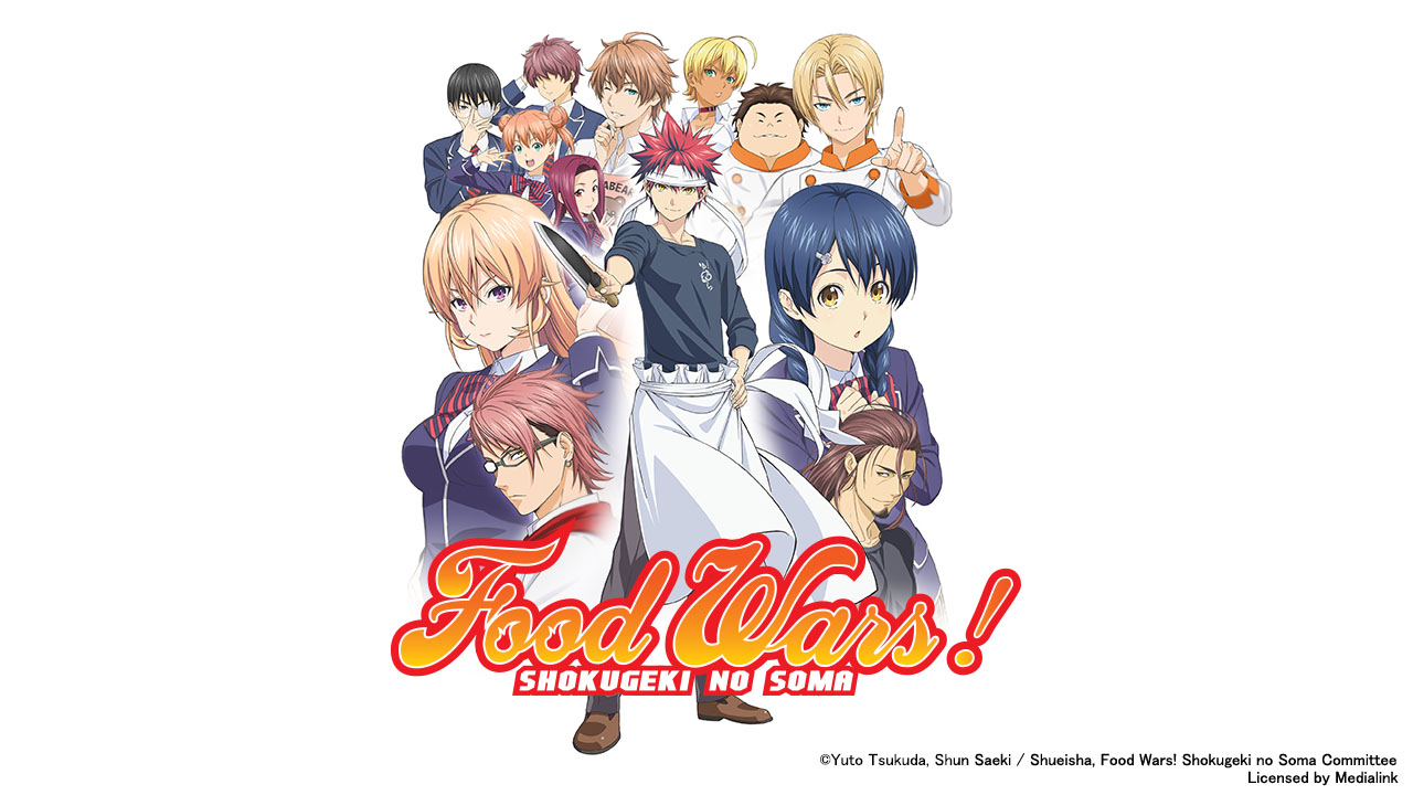 Poster of Food Wars - The First Plate Eps 24 : The Warriors Banquet